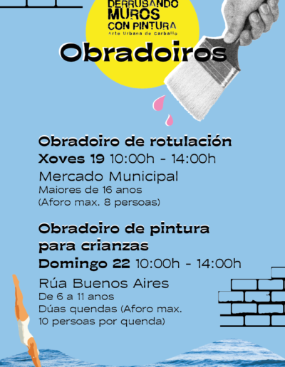 Derrubando muros - Edición Verán 2021 OBRADOIROS